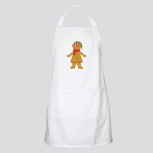 Gingerbread Girl Couples Apron
