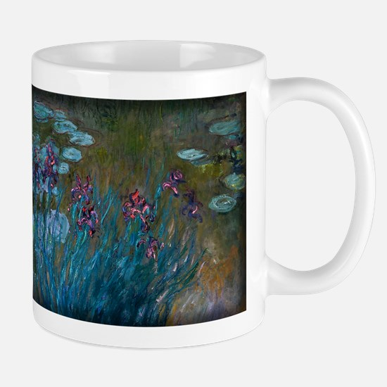 Irises and Water-Lilies Monet, Mug