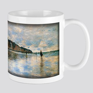 Low Tide at Pourville, Monet, Mug