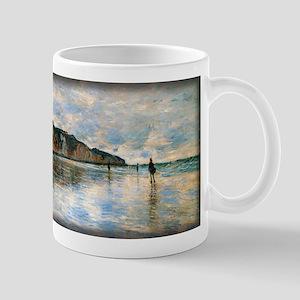 Low Tide at Pourville, Monet, Mug