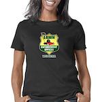 Lawn Enforcement Black Women's Classic T-Shirt