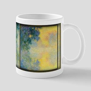 Misty Morning on the Seine, Sunrise, Monet, Mug