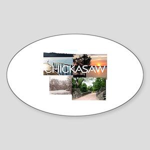 ABH Chickasaw Sticker (Oval)