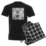Dull House (no text) Men's Dark Pajamas