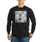 Dull House (no text) Long Sleeve Dark T-Shirt