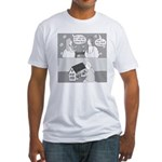 Dull House (no text) Fitted T-Shirt