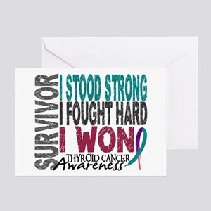 Survivor 4 Thyroid Cancer Shirts and Gifts Greetin