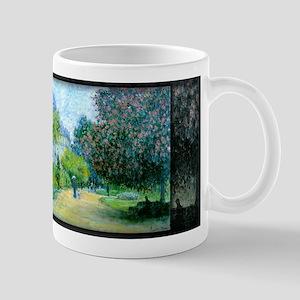 Monet Painting, Parc Monceau, 1876, Mug