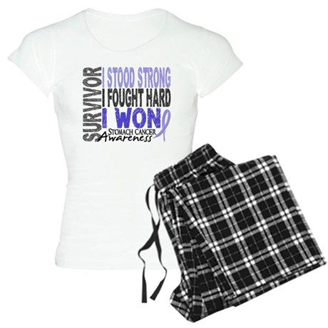 Survivor 4 Stomach Cancer Shirts and Gifts Women's