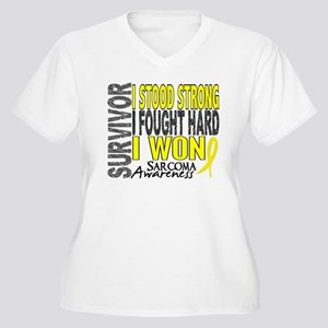Survivor 4 Sarcoma Shirts and Gifts Women's Plus S