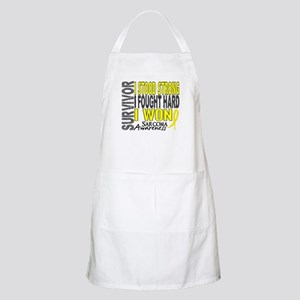 Survivor 4 Sarcoma Shirts and Gifts Apron