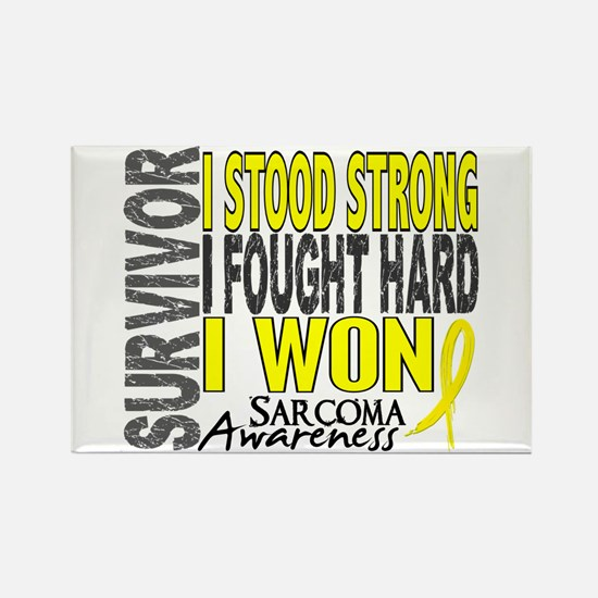 Survivor 4 Sarcoma Shirts and Gifts Rectangle Magn