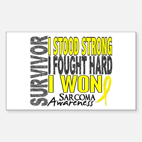 Survivor 4 Sarcoma Shirts and Gifts Decal