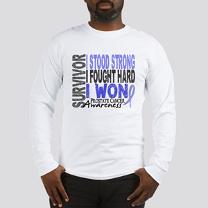 Survivor 4 Prostate Cancer Shirts and Gifts Long S
