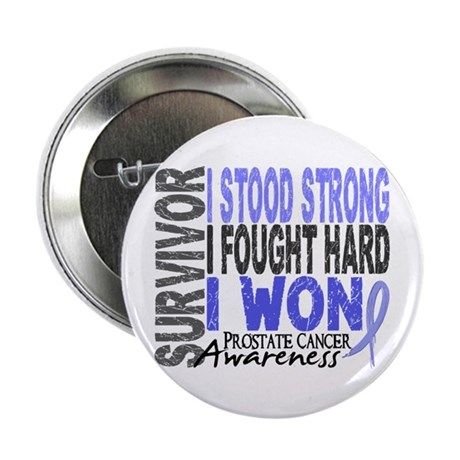 """Survivor 4 Prostate Cancer Shirts and Gifts 2.25"""""""