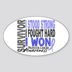 Survivor 4 Prostate Cancer Shirts and Gifts Sticke