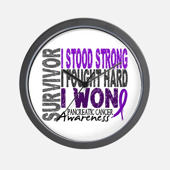 Survivor 4 Pancreatic Cancer Shirts and Gifts Wall