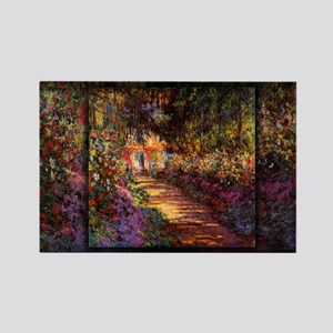 Pathway in Monet's Garden at Giverny, 1901-02, Mon