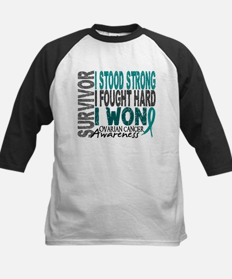 Survivor 4 Ovarian Cancer Shirts and Gifts Tee