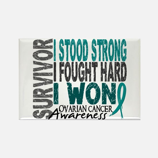 Survivor 4 Ovarian Cancer Shirts and Gifts Rectang