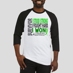 Survivor 4 Lymphoma Shirts and Gifts Baseball Jers
