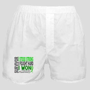 Survivor 4 Lymphoma Shirts and Gifts Boxer Shorts
