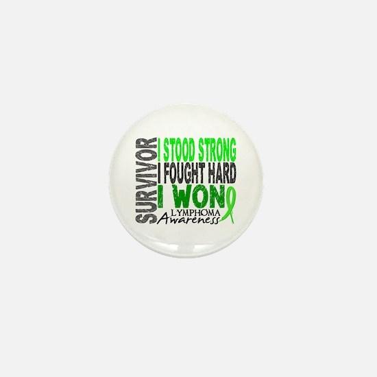 Survivor 4 Lymphoma Shirts and Gifts Mini Button
