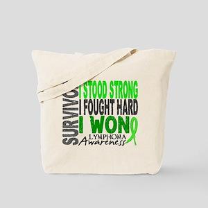 Survivor 4 Lymphoma Shirts and Gifts Tote Bag
