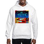 Art Shirt - 'Star over Fuji' Hooded Sweatshirt