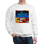 Art Shirt - 'Star over Fuji' Sweatshirt