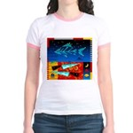 Art Shirt - 'Star over Fuji' Jr. Ringer T-Shirt