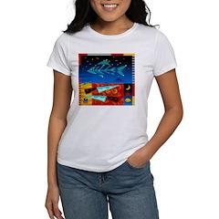 Art Shirt - 'Star over Fuji' Women's T-Shirt