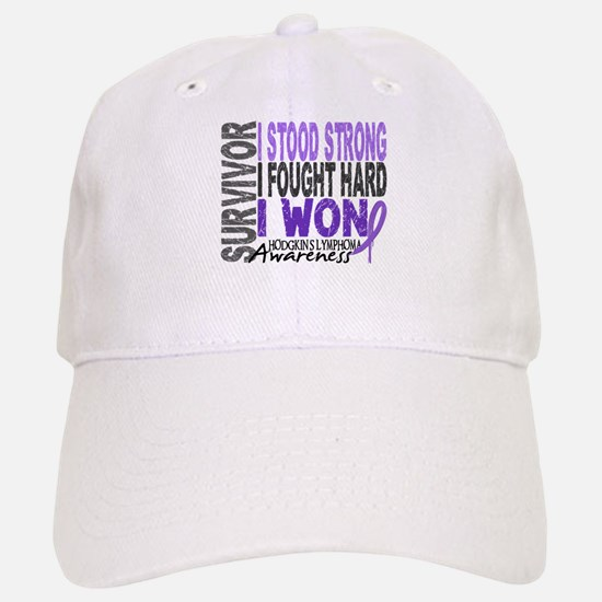 Survivor 4 Hodgkin's Lymphoma Shirts and Gifts Baseball Baseball Cap