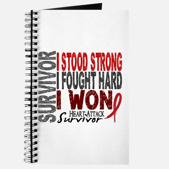 Survivor 4 Heart Attack Shirts and Gifts Journal