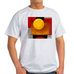 Art Shirt - 'Model of the Sun Ash Grey T-Shirt