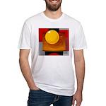 Art Shirt - 'Model of the Sun Fitted T-Shirt