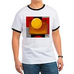 Art Shirt - 'Model of the Sun Ringer T