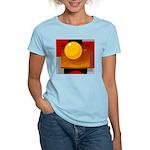 Art Shirt - 'Model of the Sun Women's Pink T-Shirt