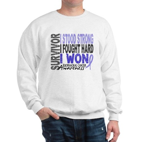 Survivor 4 Esophageal Cancer Shirts and Gifts Swea