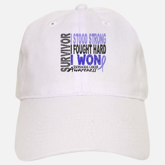 Survivor 4 Esophageal Cancer Shirts and Gifts Baseball Baseball Cap