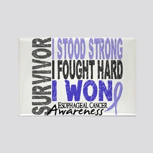 Survivor 4 Esophageal Cancer Shirts and Gifts Rect