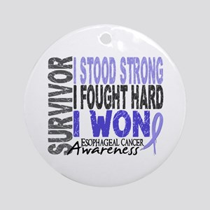 Survivor 4 Esophageal Cancer Shirts and Gifts Orna