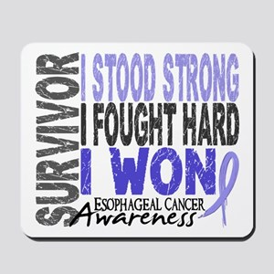 Survivor 4 Esophageal Cancer Shirts and Gifts Mous