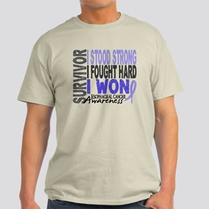 Survivor 4 Esophageal Cancer Shirts and Gifts Ligh