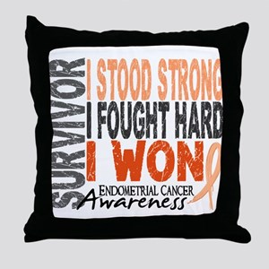 Survivor 4 Endometrial Cancer Shirts and Gifts Thr