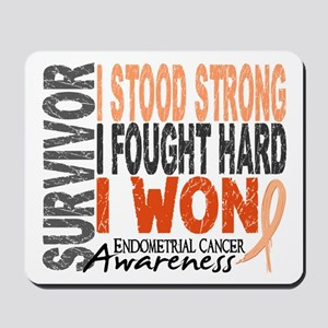 Survivor 4 Endometrial Cancer Shirts and Gifts Mou