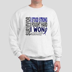 Survivor 4 Colon Cancer Shirts and Gifts Sweatshir