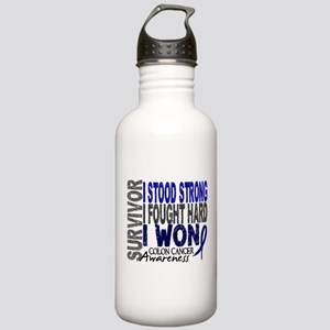 Survivor 4 Colon Cancer Shirts and Gifts Stainless