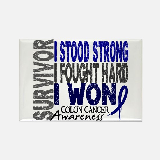 Survivor 4 Colon Cancer Shirts and Gifts Rectangle