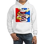 Art Shirt - 'Can' Hooded Sweatshirt